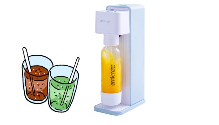 お気に入りの飲み物をシュワシュワに♪家庭用炭酸飲料メーカー「ドリンクメイト620」のモニター募集!