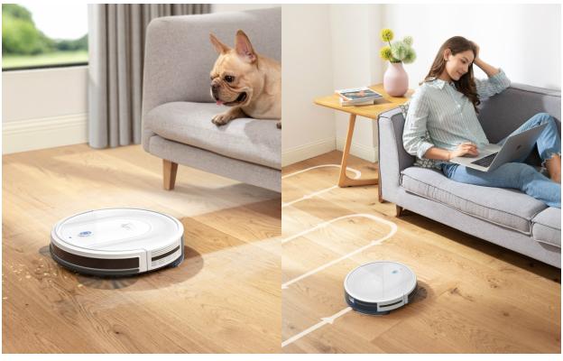 プレゼント!ゴミの吸引と水拭きの両方ができる♪ロボット掃除機「Eufy RoboVac G10 Hybrid」