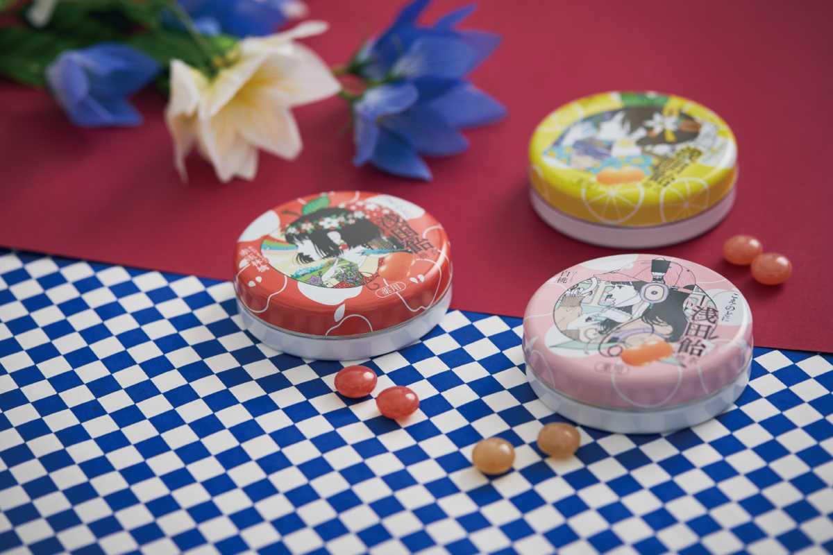 プレゼント!レトロモダンなパッケージイラストが乙女心をくすぐる♪「浅田飴糖衣」2個セット