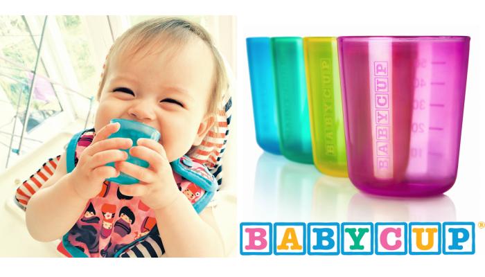 赤ちゃんの小さな手と口にぴったり♪「BABYCUP(ベビーカップ)」のモニター募集!