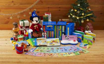 【100名様にクリスマスプレゼント♪】先輩ママが絶賛する『ディズニー英語システム』などが当たるキャンペーン開催中!