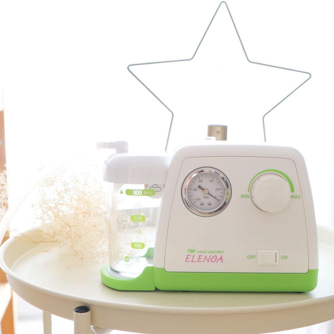 一家に一台!電動鼻水・たん吸引器「ELENOA エレノア」モニターママの口コミ!
