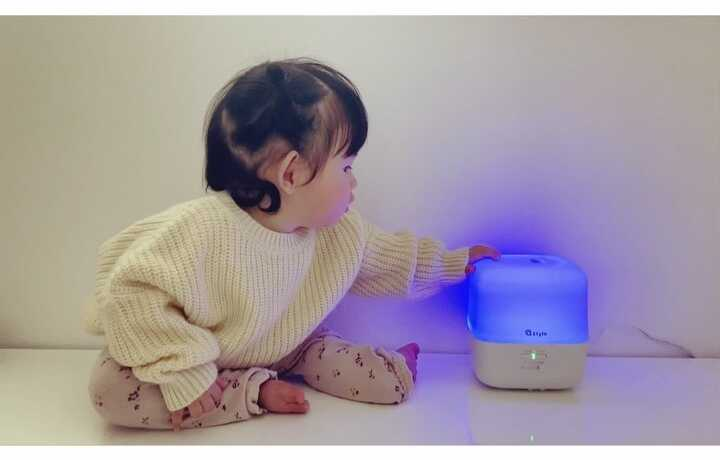 加湿器も便利に!+Style「スマート加湿器(卓上)」モニターママの口コミ!