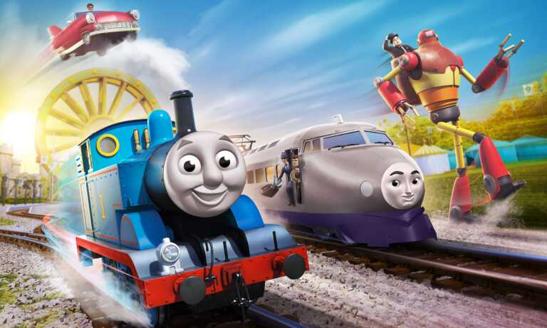 プレゼント!日本のキャラクターも新登場♪3月26日公開『映画 きかんしゃトーマス おいでよ!未来の発明ショー!』ムビチケペア券