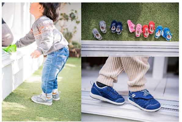 「お靴はかせて~」が卒業できる!子どものやる気を引き出すキッズシューズ「ミズノ プレモア インファント」のモニター募集!