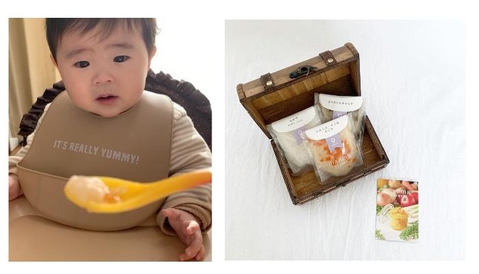 滋賀県の旬の野菜で作られた「manma 四季の離乳食」モニターママの口コミ!