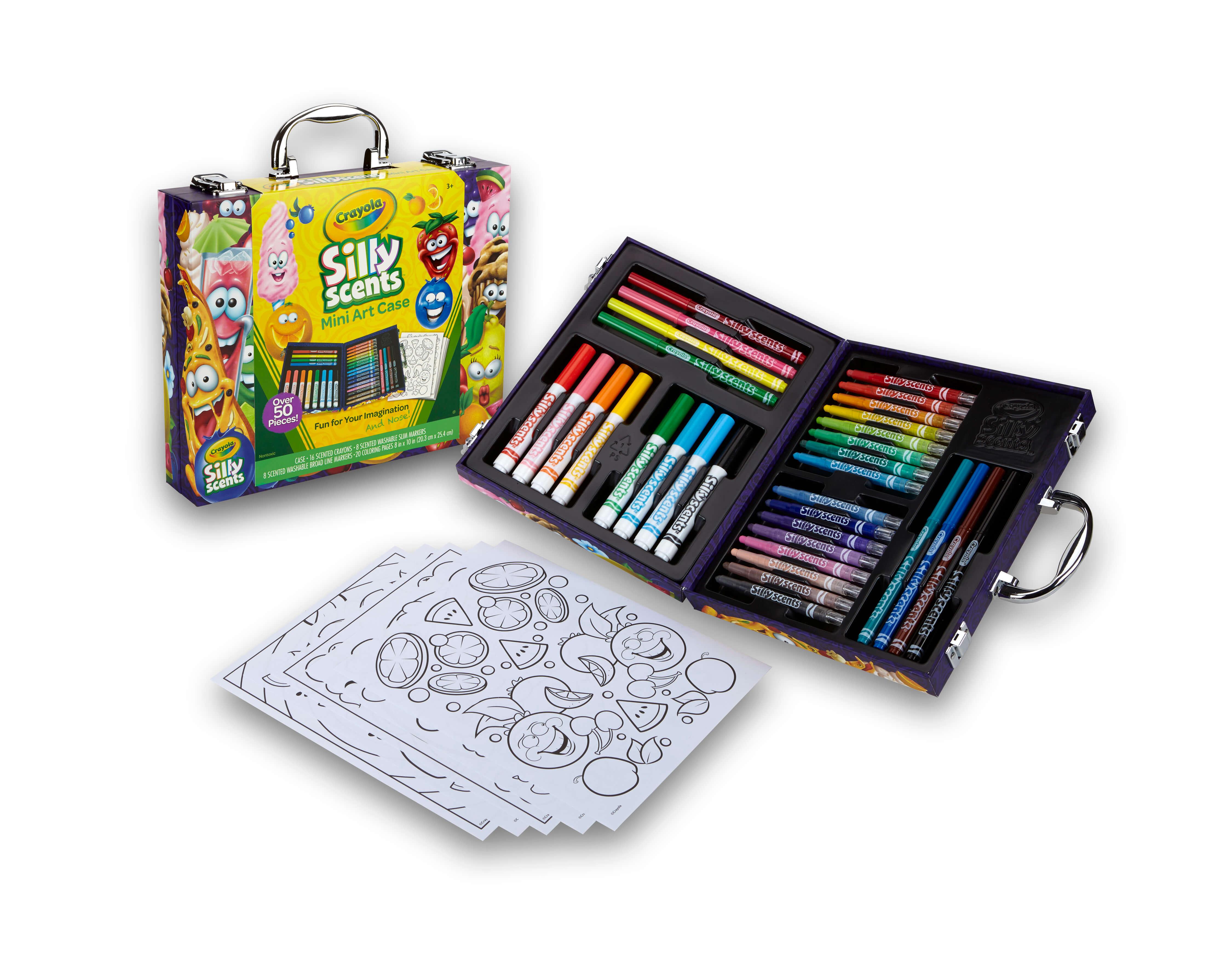 50種類以上のおえかきツールで子どもの想像力を刺激!「シリーセンツ インスピレーションアートケース ミニ」のモニター募集!