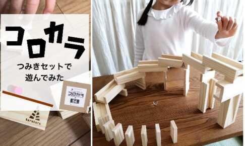 知育玩具「コロカラつみきセット」モニターママの口コミ