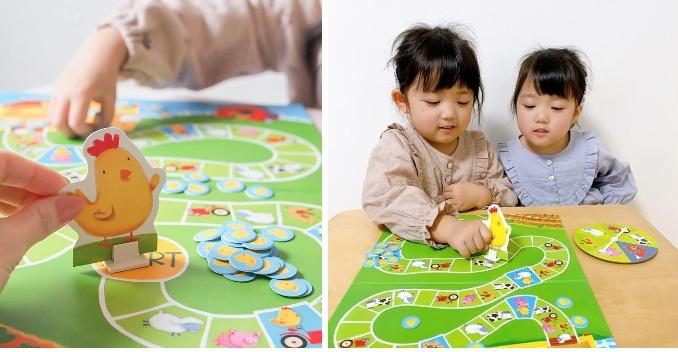 知育玩具「数えるすごろく ピヨピヨひよこで1,2,3」モニターママの口コミ!