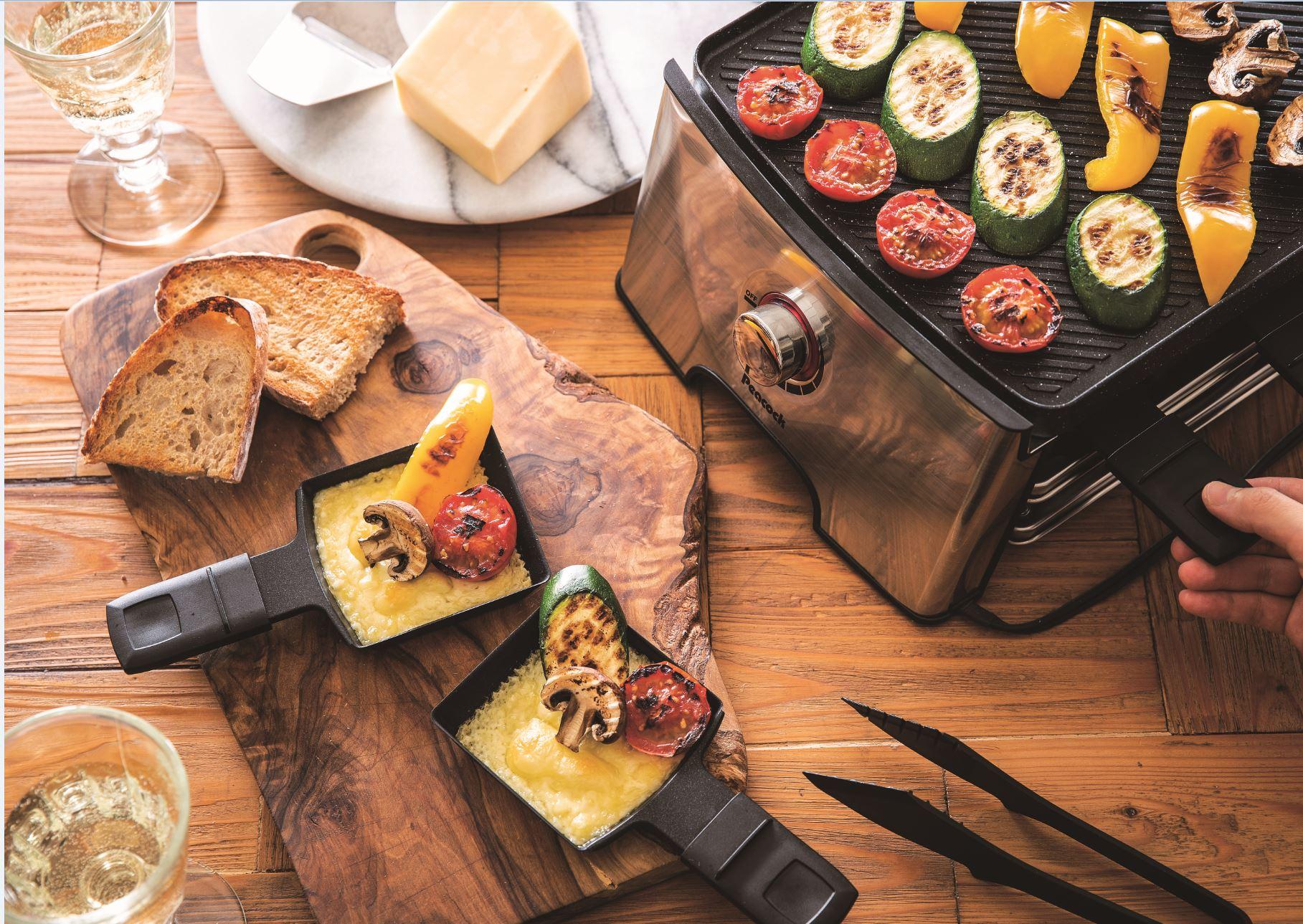 ラクレットも焼肉もこれひとつでおいしく楽しくできる♪ピーコック魔法瓶「ホームパーティーグリル WRV-13」のモニター募集!