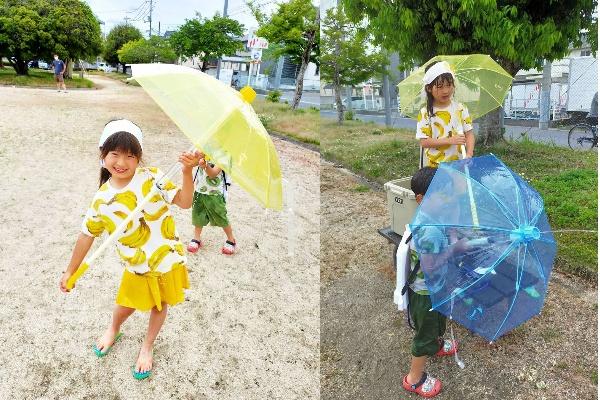 水鉄砲と傘が合体!「ウォーターガンブレラ 対戦セット」モニターママの口コミ!