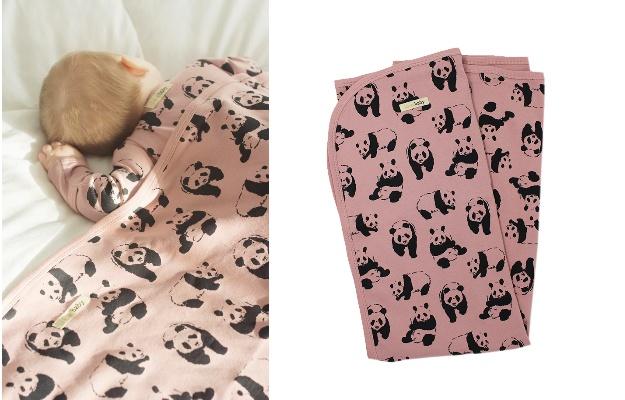 プレゼント!赤ちゃんの体をやさしく包むオーガニック素材のブランケット L'ovedbaby「Swaddling Blanket」