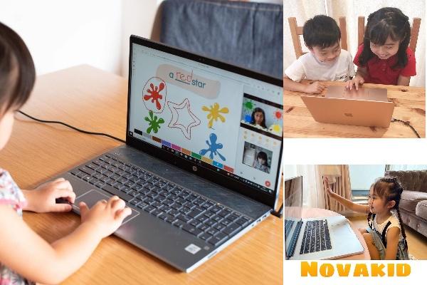 4~12歳の子ども向け、オンライン英会話「Novakid(ノバキッド)体験レッスン」モニターママの口コミ!