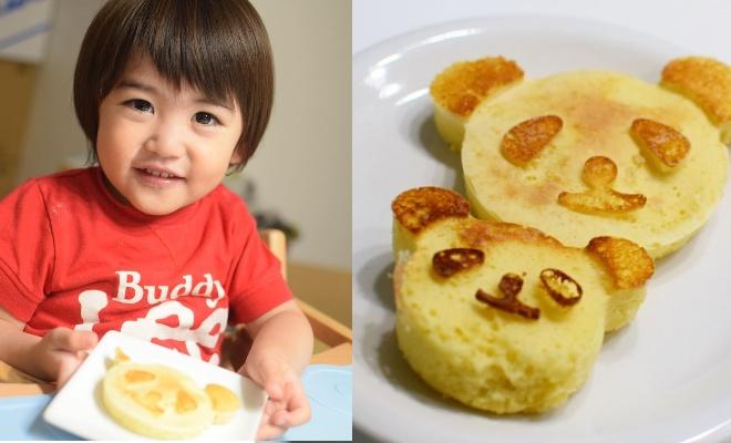 簡単にかわいいパンダが完成!「シリコン製パンダのパンケーキの型」モニターママの口コミ!