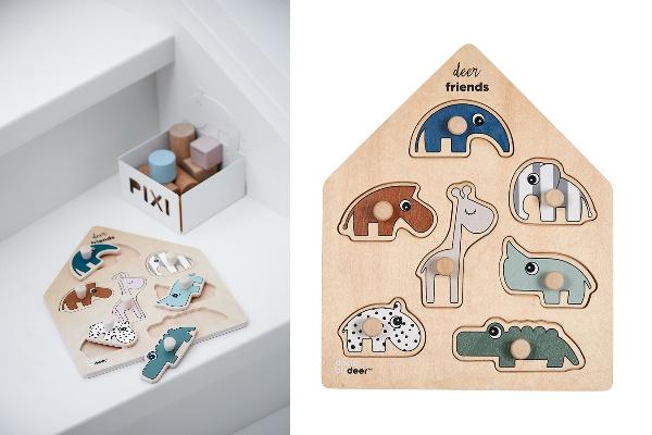 木のぬくもりが感じられる北欧のおもちゃ「Done by Deer ペグパズル ディアフレンズ」のモニター募集!